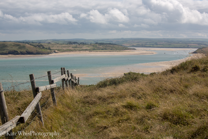 View of the Camel Estuary near Padstow