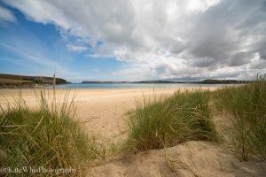 Tregirls beach from the dunes