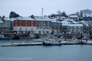 Padstow in the snow