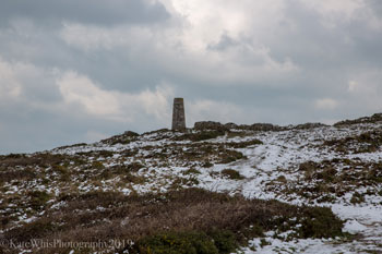 Stepper Point in the snow