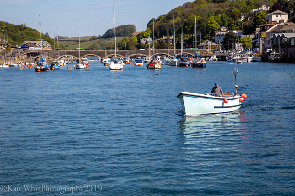 boat on Looe river