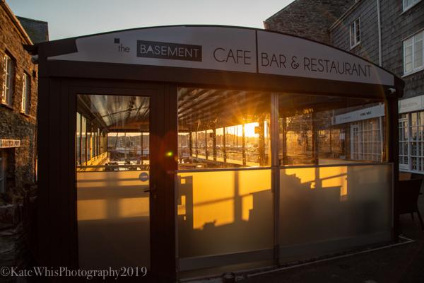 Sunrise at The Basement