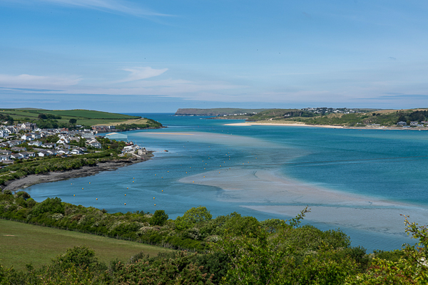 View from Victoria Monument, Padstow